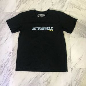 Astro world travis Scott tour shirt
